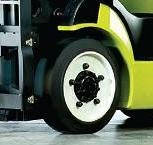 Бандажные шины для вилочных погрузчиков