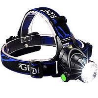 Налобный фонарь Police BL-6699 (Cree-T6, 1000 люмен, 4 режима, 2x18650)