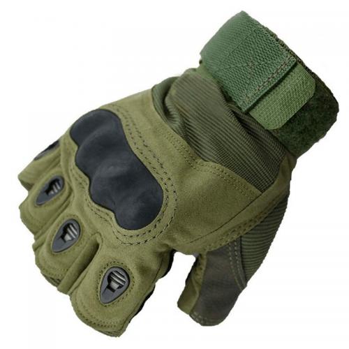 Перчатки без пальцев тактические Oakley (р.L), оливковые