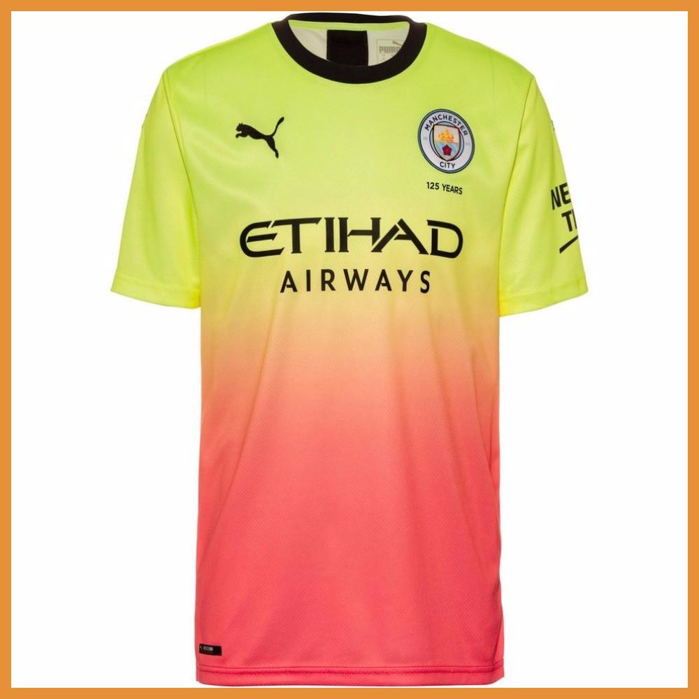 Футбольная форма Манчестер Сити (Manchester City), резерв/радужный сезон 19/20