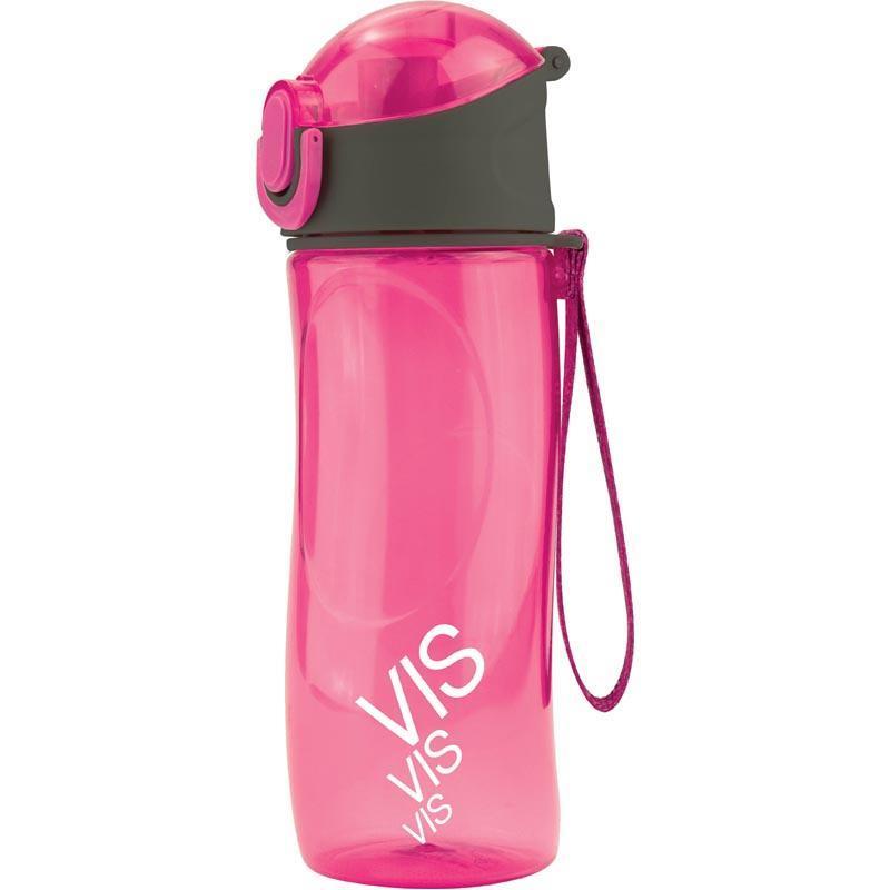 Бутылочка для воды Kite Время и Стекло 530 мл Розовая (VIS19-400-02)