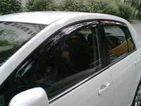 Ветровики Nissan Tiida 2006-on седан