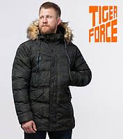 Tiger Force 76029 | куртка зимняя мужская темно-зеленая