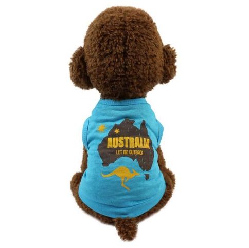 Літня футболка для собак дрібних порід Фотограф