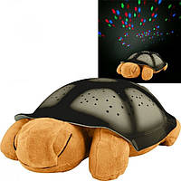 Ночник проектор звездного неба Turtle Night Sky  (chere оранжевая)