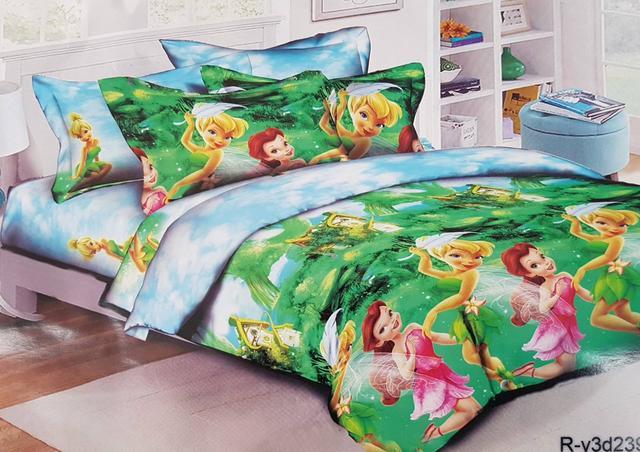 фотография детское постельное для девочек с принцессами динь динь