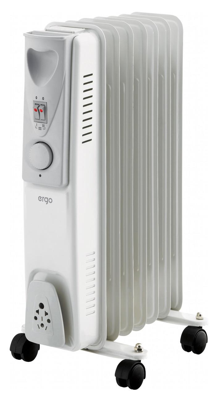 Масляный радиатор ERGO HO 191507 1500 Вт 7 секций