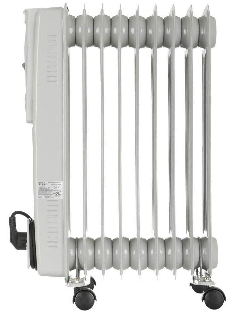 Масляный радиатор ERGO HO 192009 2000 Вт 9 секций