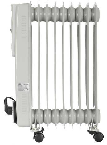 Масляный радиатор ERGO HO 192009 2000 Вт 9 секций, фото 2