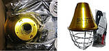 Защитный водонепроницаемый  плафон для ламп Interheat , D21 см, фото 4