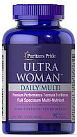 Витамины Puritan's Pride Ultra Woman Daily Multi Timed Release 90 таблеток (4384301672)