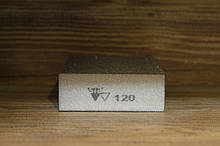 Абразивная губка 4-х сторонняя, Siasponge Block, P120, 1 шт., SIA Abrasives