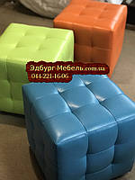 Яркие и цветные пуфики Квадро, фото 1