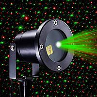 Уличный декоративный лазерный проектор moving garden laser light (зеленый/красный)