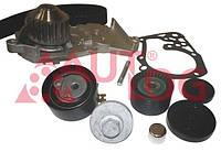 Насос водяной, ремень ГРМ, ролики (комплект) WK3011 AUTLOG