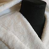 """Халат махровый длинный с капюшоном """"белый"""", фото 2"""