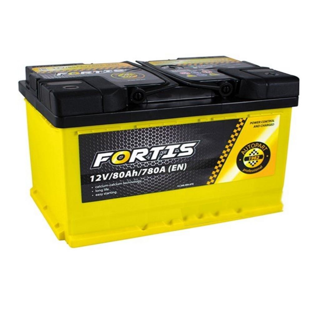 АКБ 6 ст 80 А (780EN) (0) AutoPart FORTIS Євро