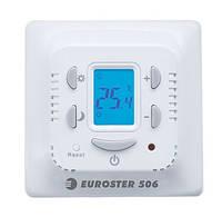 Терморегулятор комнатный EUROSTER 506, управление теплым полом, газовым и масляным отоплением с 2мя датчиками