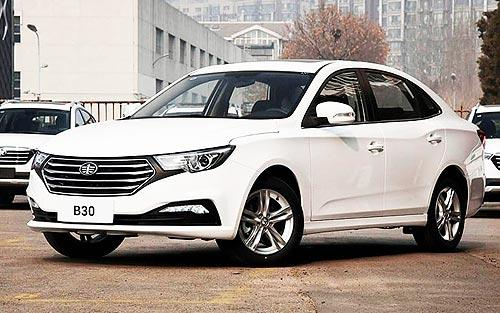 В Украине стартовали продажи самого доступного на рынке седана с коробкой «автомат» FAW B30