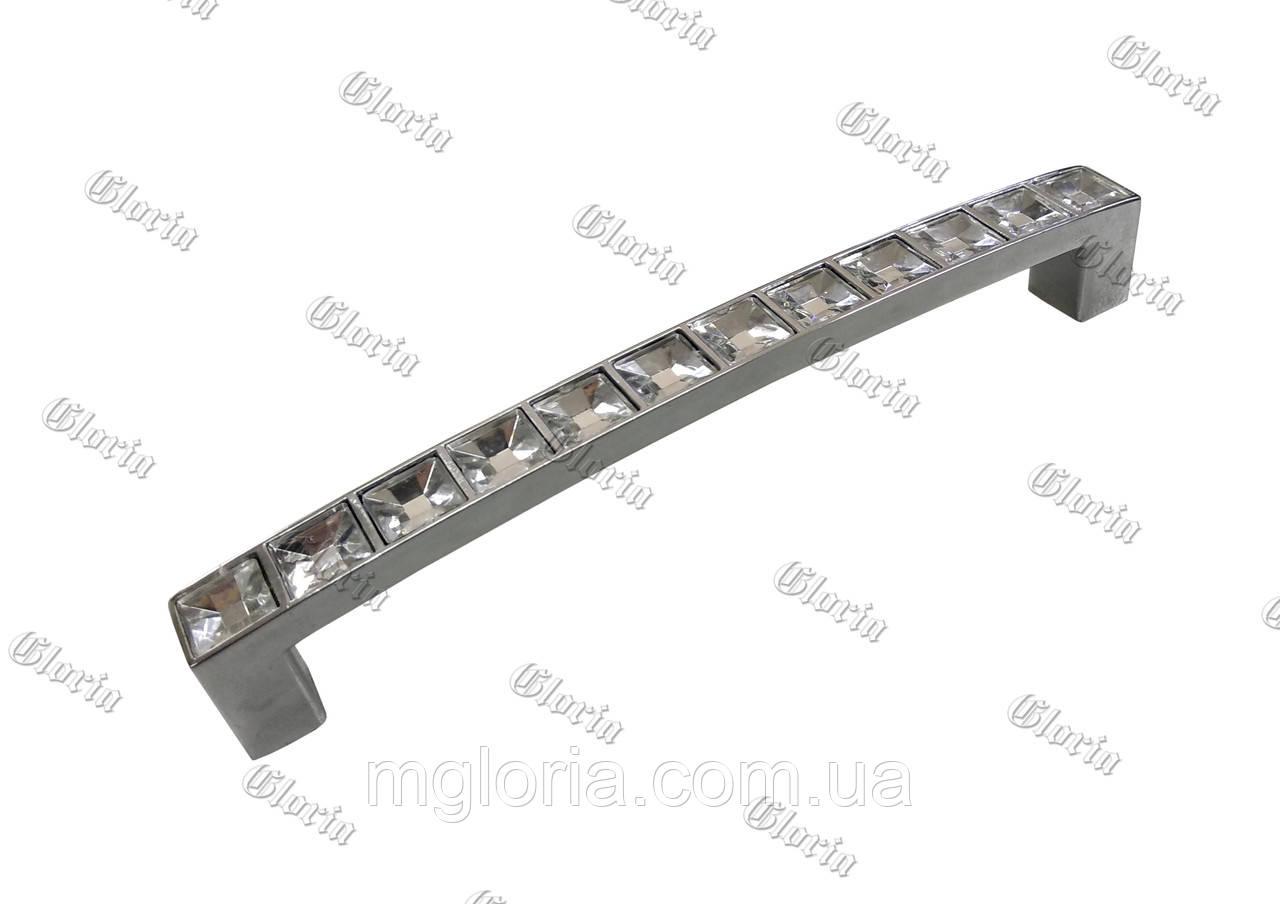 Ручка для мебели с кристаллами FF5/104 -128