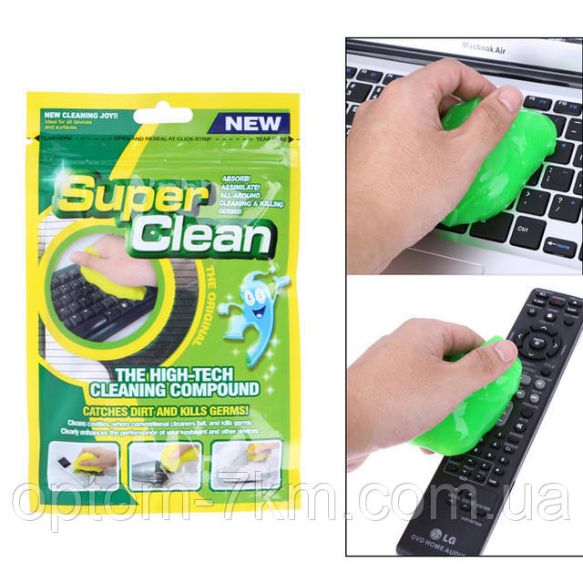 Гель для чищення клавіатури Super Clean 3285 VJ