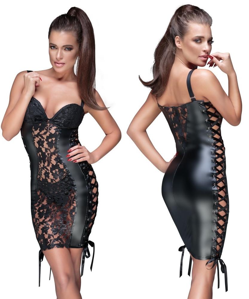Эротическое платье Noir Lace Dress от Orion