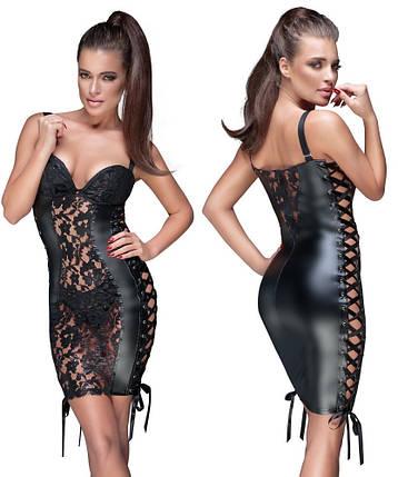 Эротическое платье Noir Lace Dress от Orion, фото 2