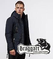 Braggart Arctic 1533 | Модная мужская зимняя парка темно-синяя, фото 1