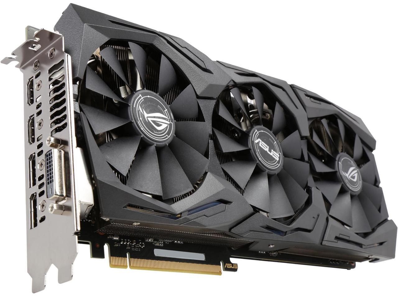 "Видеокарта ASUS ROG STRIX GTX1070 8G-GAMING GDDR5 256bit ""Over-Stock"" Б/У"