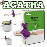 """Держатель Ведьма - """"Agatha"""" + деревянные приборы"""