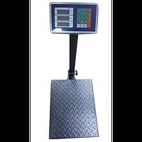 Весы торговые электронные напольные Domotec на 300 кг усиленные