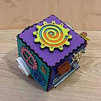 """Мини кубик дорожный с игрушками """"Бизикуб"""" 125*125*125мм"""