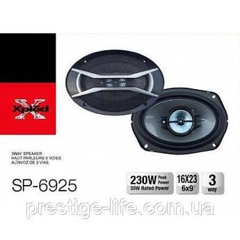 Авто акустика SP-6925 (6''*9'', 4-х полос., 1200W), автомобильные колонки