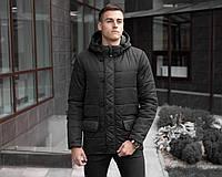 """Мужская осенняя куртка Pobedov Jacket """"Belfort"""" Black"""