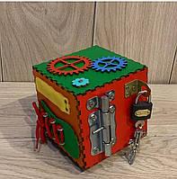 "Бизикуб мини с игрушками ""Кубико"" 125*125*125мм"