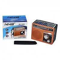 Радиоприемник Solar NNS 1360S Коричневый