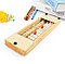 Счеты абакус соробан дерево с кнопкой сброса 13 рядов Game toys, фото 3