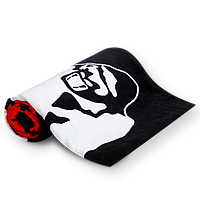 Фитнес-полотенце Gorilla Wear Classic Gym Towel Black Red (4384301922)