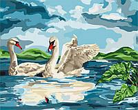 Рисование по номерам Идейка У озера (KH4147) 40 х 50 см