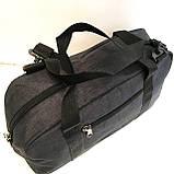 Спортивные универсальные сумки FILA для (3цвета ДЖИНС)19х26х48см, фото 3