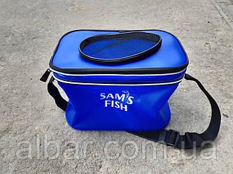 Удобная непромокаемая складная сумка для рыбалки 30х20х20