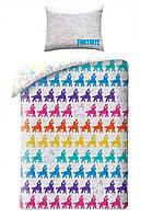 Постельное белье полуторный комплект - FORTNITE - Фортнайт лама поппури
