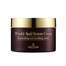 Антивозрастной крем на основе улиток The Skin House WRINKLE SNAIL SYSTEM CREAM,100 мл