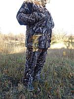 "Зимний костюм для рыбалки ""бурый лес"" - 30  градусов .усиленная алова"