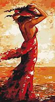 Картина раскраска Идейка Магия женщины (KH4630) 27 х 50 см