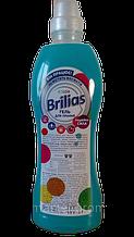Безфосфатний гель для прання кольорового одягу Brilias 1л