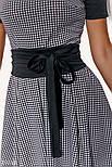 Трикотажное платье миди а-силуэта, фото 3