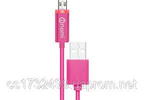 Адаптер/кабель Nomi DCL 10m USB micro 1м Pink
