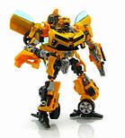 Трансформер Бамблби и Сэм Уитвики - Bumblebee&Sam Witwicky, TF2, Human Alliance, 20CM, фото 5