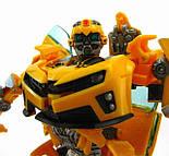 Трансформер Бамблби и Сэм Уитвики - Bumblebee&Sam Witwicky, TF2, Human Alliance, 20CM, фото 6
